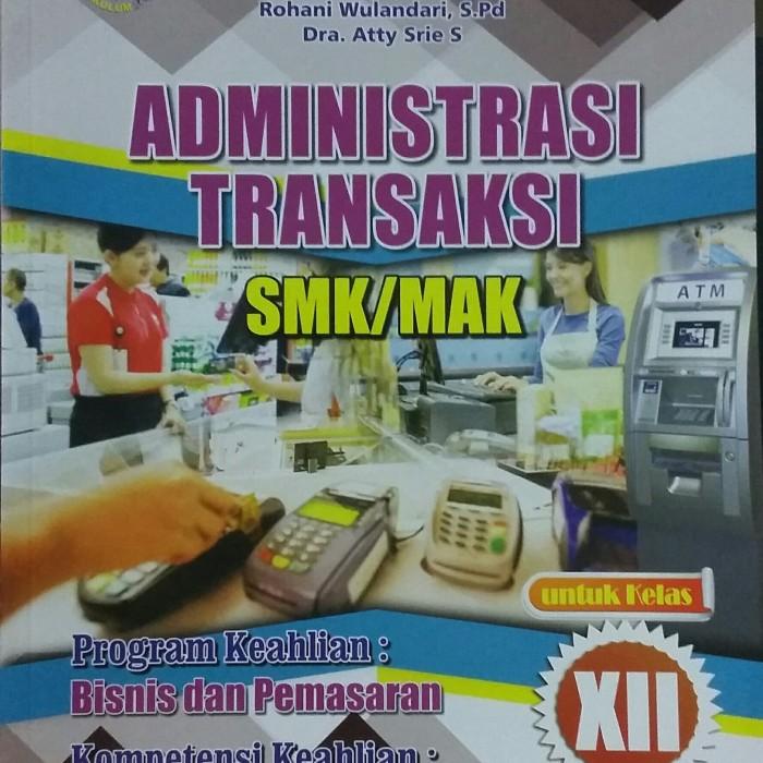Download Buku Administrasi Transaksi Kelas 12 - Guru Galeri