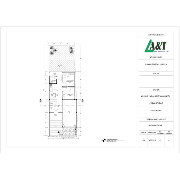 Desain Rumah Minimalis Cad  jual jasa desain rumah paket lengkap termasuk gambar 3 dimensi kota surabaya jasa desain rumah toko tokopedia