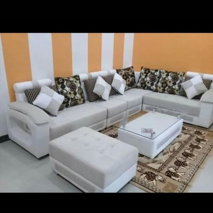 Jual Sofa L Terbaru Biru Kab Tegal