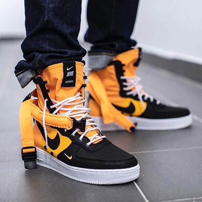 Jual Sepatu Nike SF Air Force 1 High Laser Orange Premium Original DKI Jakarta AFS.Store | Tokopedia