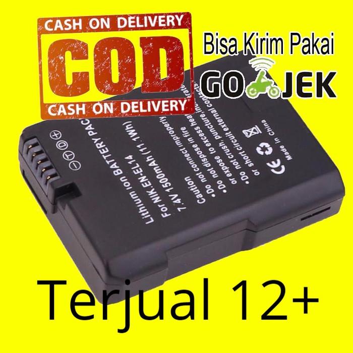 harga [mg]battery/baterai kamera nikon en-el14 en-el14e (oem) Tokopedia.com