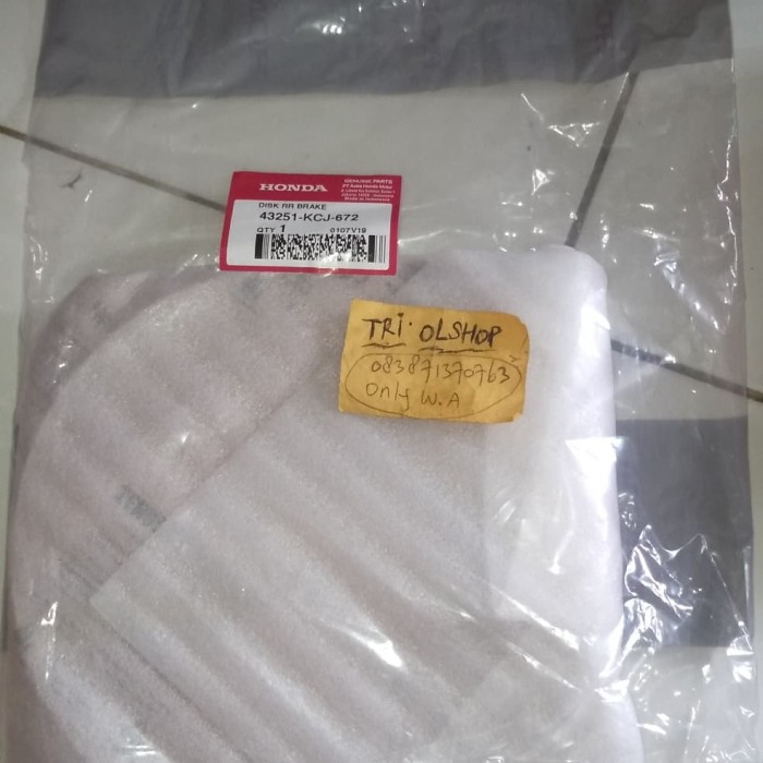 harga Disk belakang ori tiger revo disc piringan new megapro cakram cb150r Tokopedia.com