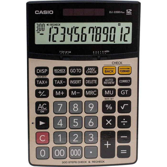 harga Casio calculator dj-220d plus Tokopedia.com