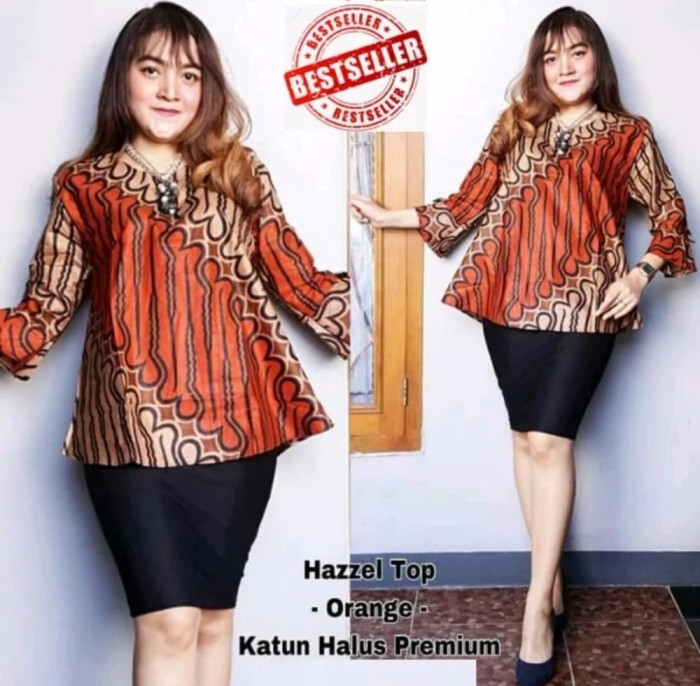 Jual Best Model Baju Atasan Wanita Modern Baju Batik Kota Surabaya Spirit 99 Tokopedia