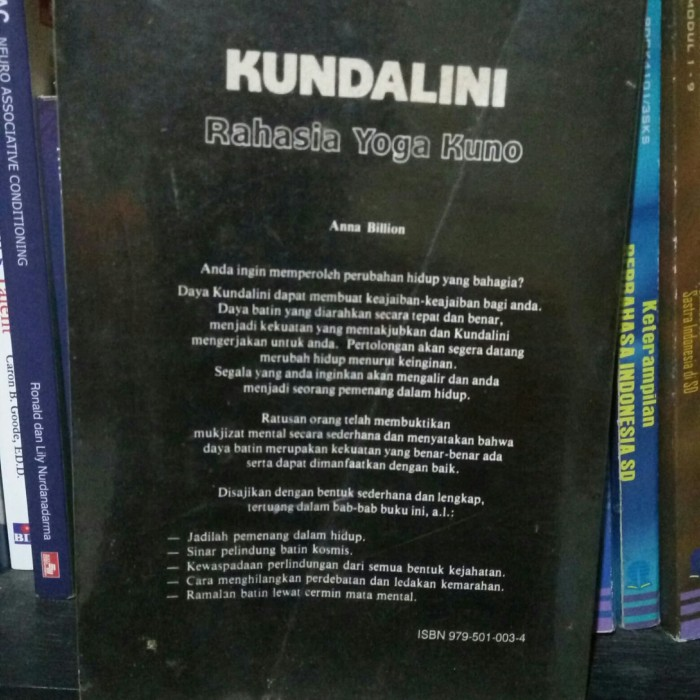 Jual Kundalini Rahasia Yoga Kuno - Anna Billion - Secrets The Ancient Yogis  - Kab  Kudus - Abdul Books Store | Tokopedia