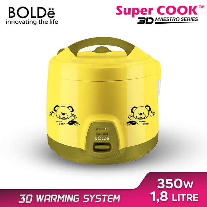 Foto Produk BOLDe Super Cook Maestro Series 1,8 L - Merah Muda dari BOLDe Official Store
