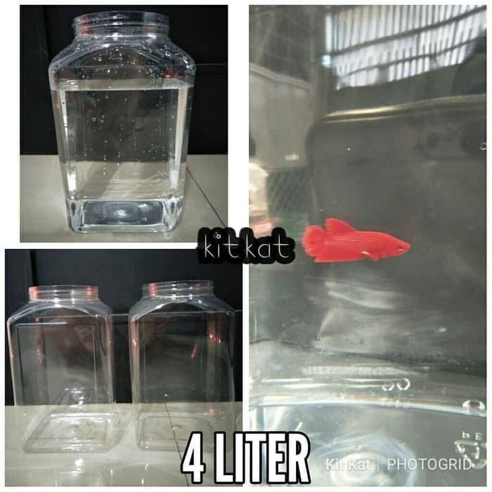 Foto Produk Toples Plastik 4 Liter Khusus Kiriman Luar kota dari Kitkats