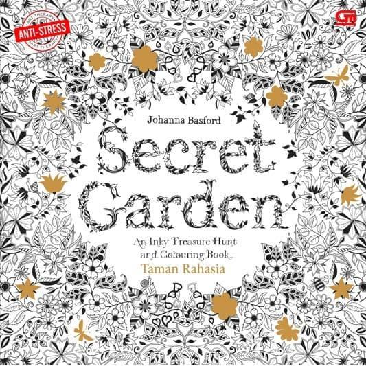 Jual Anti Stres Taman Rahasia Secret Garden Coloring Book For Adults Jakarta Utara Clarias Shop Tokopedia