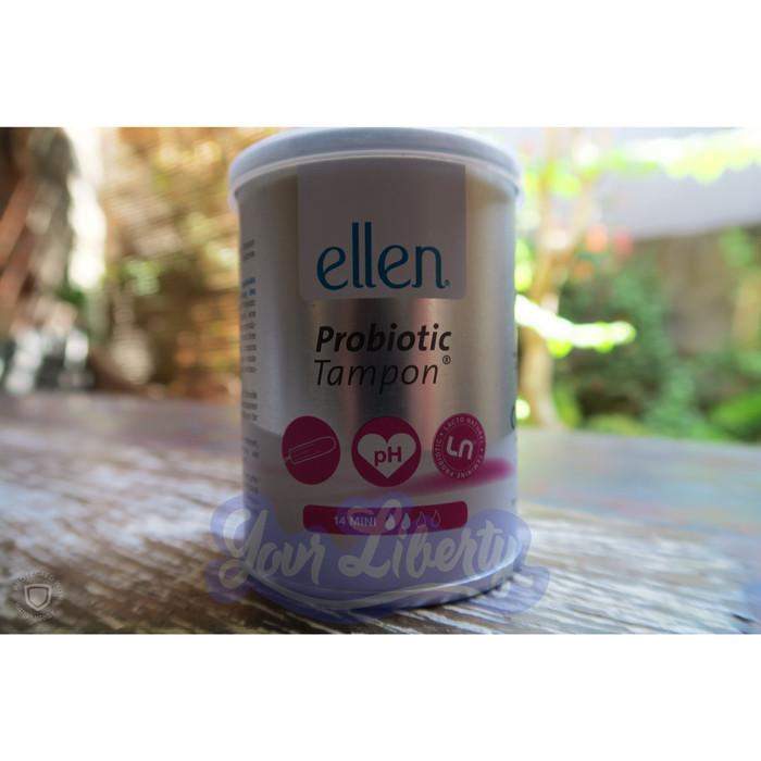 Foto Produk Tampon Probiotik ellen Mini (isi 14 pcs) dari Your Liberty Shop