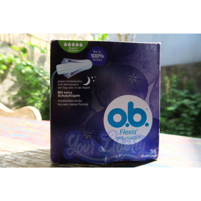 Foto Produk Tampon ob Flexia Super Plus Day + Night (isi 36 pcs) dari Your Liberty Shop