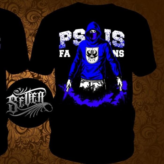 Foto Produk Kaos Big Fans PSIS Kaos Mahesa Jenar Panser Biru Snake Semarang - Hitam, M dari Stigma Cloth