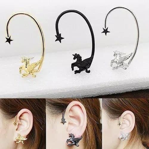 Foto Produk anting unicorn earcuff dari unicorn squad id