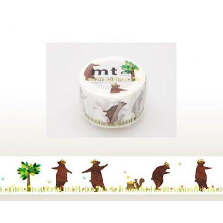 Foto Produk MTEX1P73 (30mm) kasaneru - bear & squirrel dari gudily