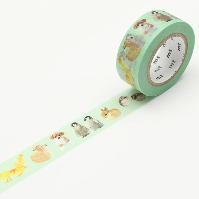 Foto Produk MTEX1P129 (18mm x 10m) baby animals dari gudily