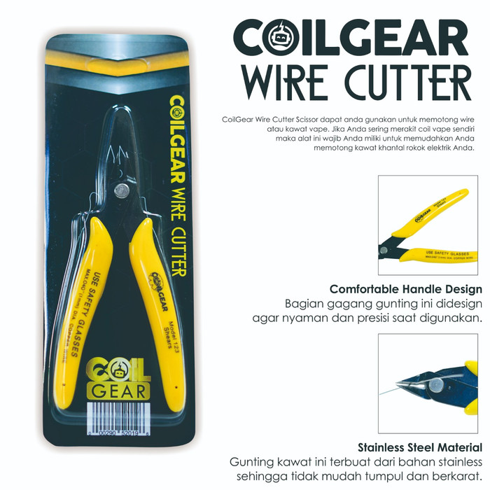 Foto Produk Authentic Coil Gear Wire Cutter Tang Potong Kawat Coil Vape Vapor dari VapeOi