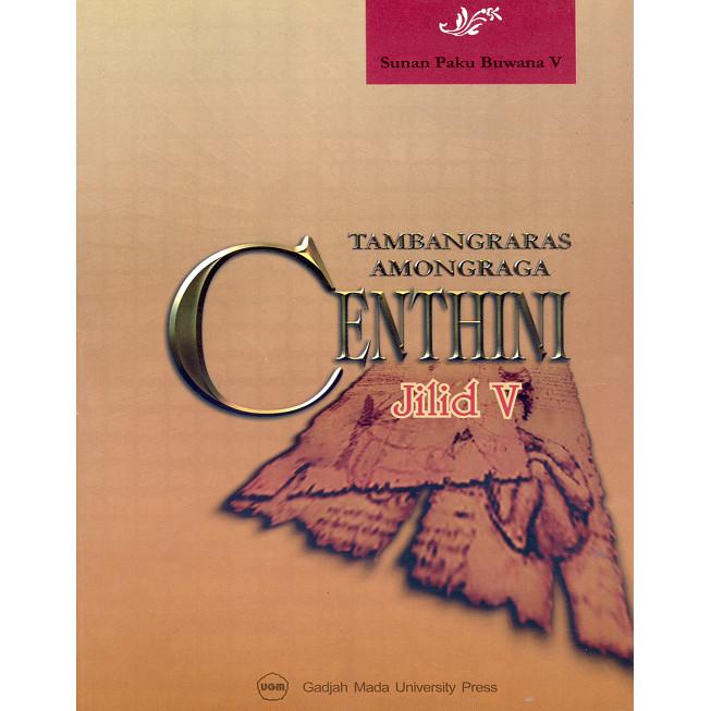 harga Centhini tambangraras-amongraga jilid v Tokopedia.com