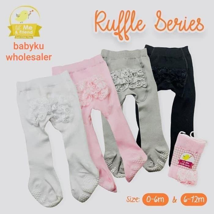 Jual Legging Bayi Polos Renda Baby Legging Ruffle Legging Baby Girl Kab Bekasi Indrast0re Tokopedia