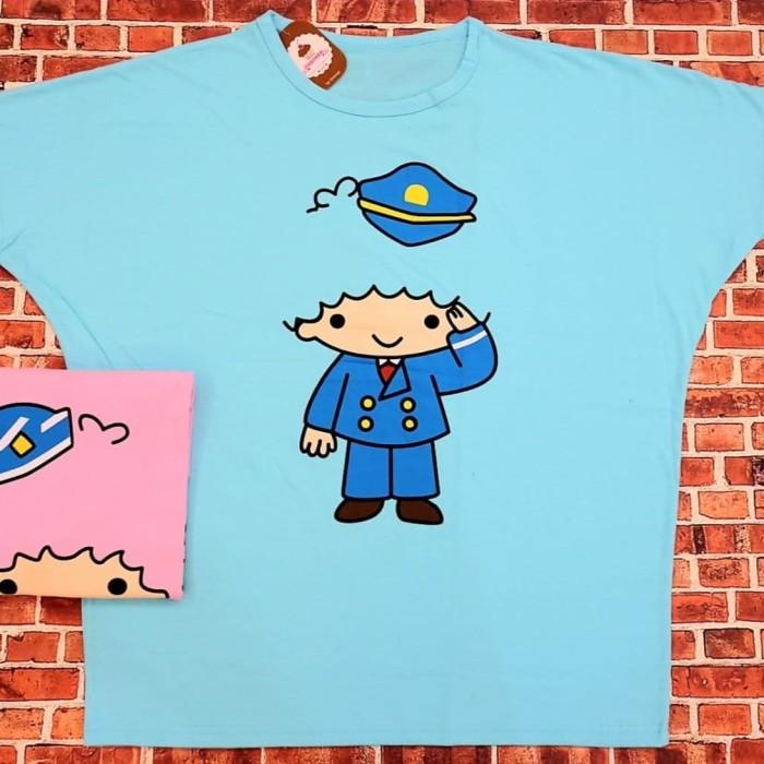 harga Kaos wanita jumbo sailor batwing xxxl oreenjy cupcake Tokopedia.com