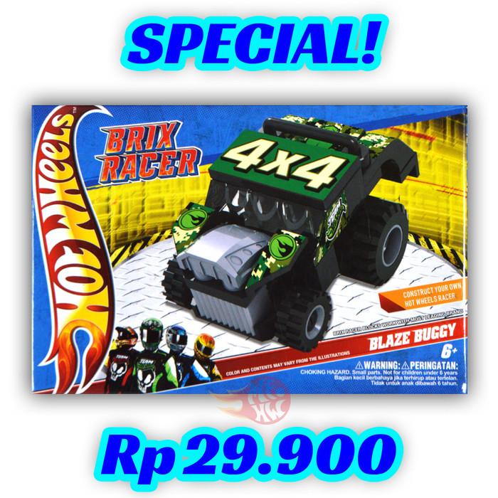 Blaze Buggy - Mini Brix Racer Hot Wheels Emco Hotwheels HW Lego Brick