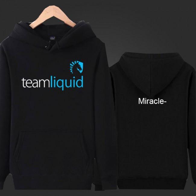 Foto Produk Jaket / Zipper / Hoodie Team Liquid Miracle - Hitam dari RUMAH FASHION.