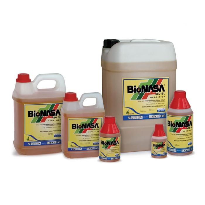 Foto Produk Herbisida Bionasa 480 SL 200ml basmi rumput seakarnya dari Purotani