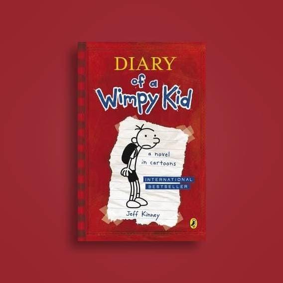 harga Diary of a wimpy kid #1 by jeff kinney [english-uk][sc] Tokopedia.com