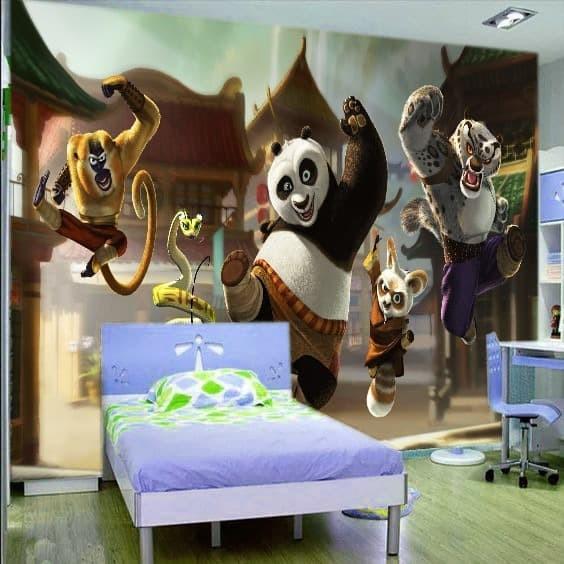 Jual Wallpaper Custom 3d Wallpaper Dinding Anak Kungfu Panda Jakarta Pusat Homewallpaper Tokopedia
