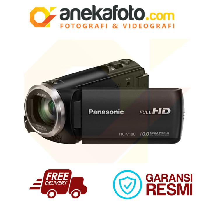harga Panasonic camcorder hc-v180 ga-k Tokopedia.com