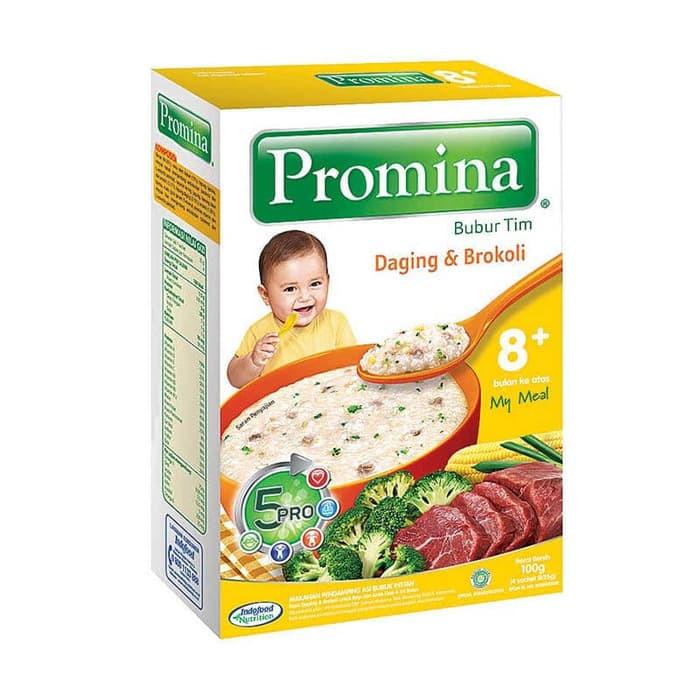 Jual Promina Bubur Bayi Tim 8 Bulan Daging Amp Brokoli 100gr