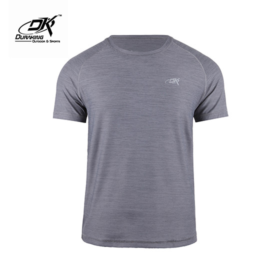 Foto Produk Running Jersey - DK Basic Color Tee Man Grey - M dari Duraking Outdoor&Sports