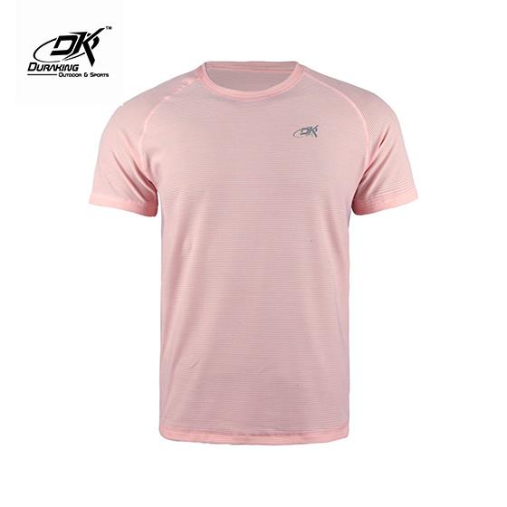 Foto Produk Running Jersey - DK Basic Color Tee Man Pink - S dari Duraking Outdoor&Sports