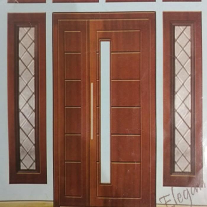Jual Set Kusen Pintu Dan Jendela Utama Minimalis Daun Pintu Asimetris Kab Bekasi Pani Jaya Cyber Shop Tokopedia