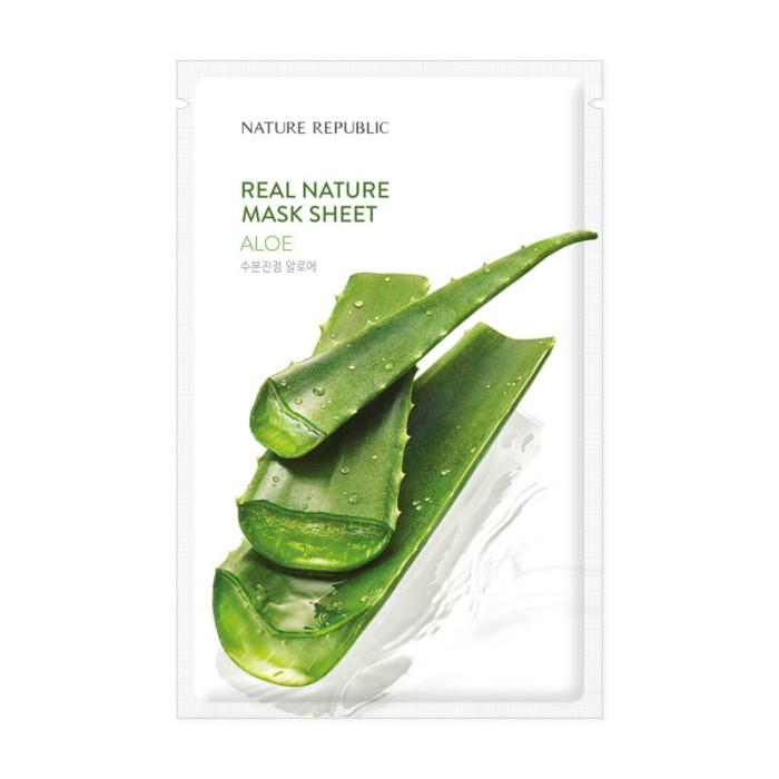 Foto Produk NATURE REPUBLIC Real Nature Aloe Mask Sheet dari NATURE REPUBLIC OFFICIAL