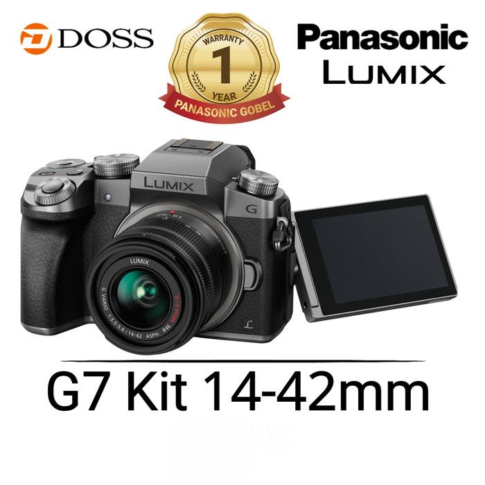 harga Panasonic lumix dmc-g7 with 14-42mm f/3.5-5.6 ois (silver) Tokopedia.com