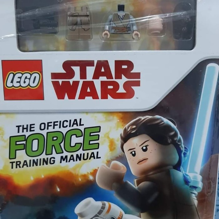 New Book The Official Force Training Manual LEGO Star Wars