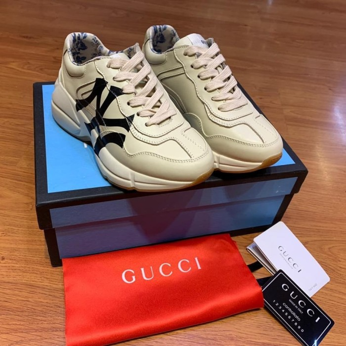 Jual GUCCI RHYTON SNEAKERS WITH NY NEW