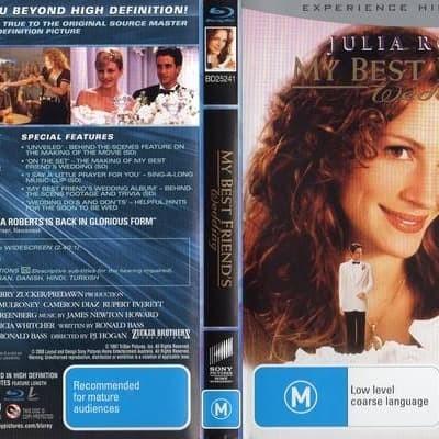 Jual Film Dvd My Best Friend S Wedding 1997 Movie Collection Film Koleksi Jakarta Barat M Collector Tokopedia