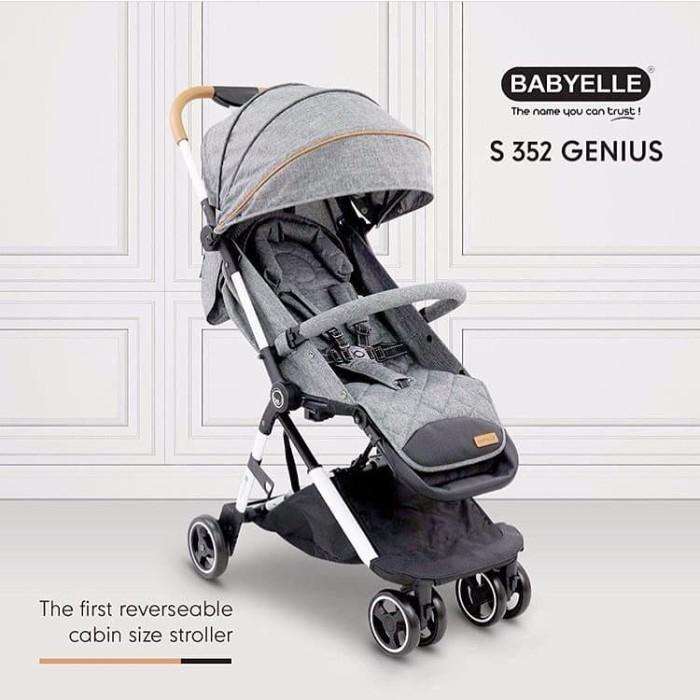 harga Babyelle genius 352 blue #kereta dorong bayi terlaris! Tokopedia.com