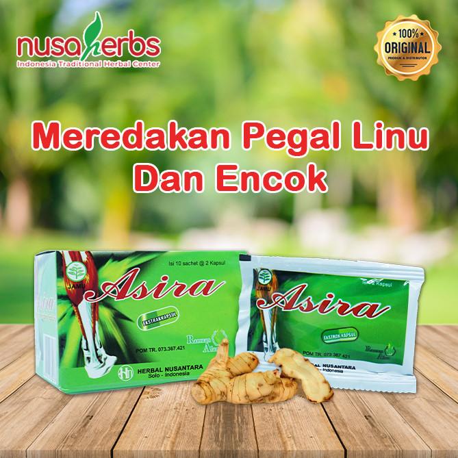 Foto Produk Herbal Pegal Linu ASIRA KAPSUL dari Nusaherbs