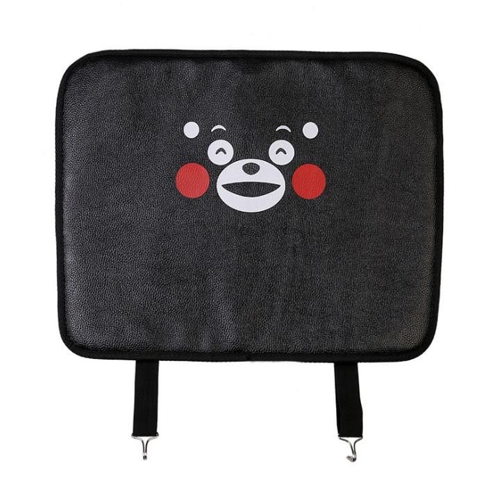 harga Cover jok mobil dari kaki sepatu anak - anti child kick pad - 4 model - black bear Tokopedia.com