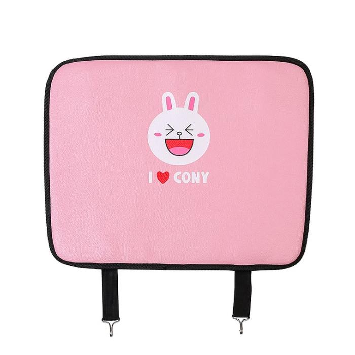 harga Cover jok mobil dari kaki sepatu anak - anti child kick pad - 4 model - pink cony Tokopedia.com
