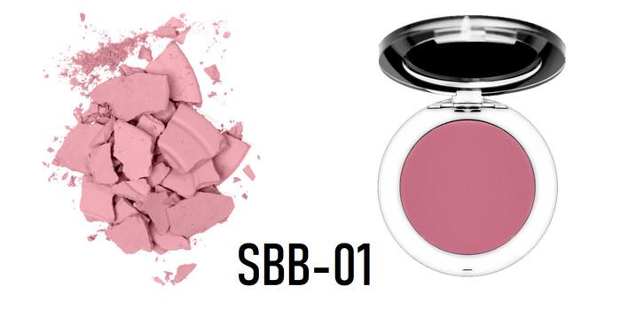 harga Studio makeup - soft blend blush - sahara Tokopedia.com