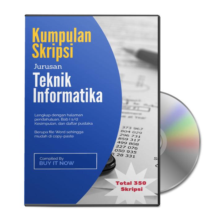 Jual Kumpulan Skripsi Teknik Informatika Sudah Dalam Bentuk File Word Kota Denpasar Buyit Now Tokopedia