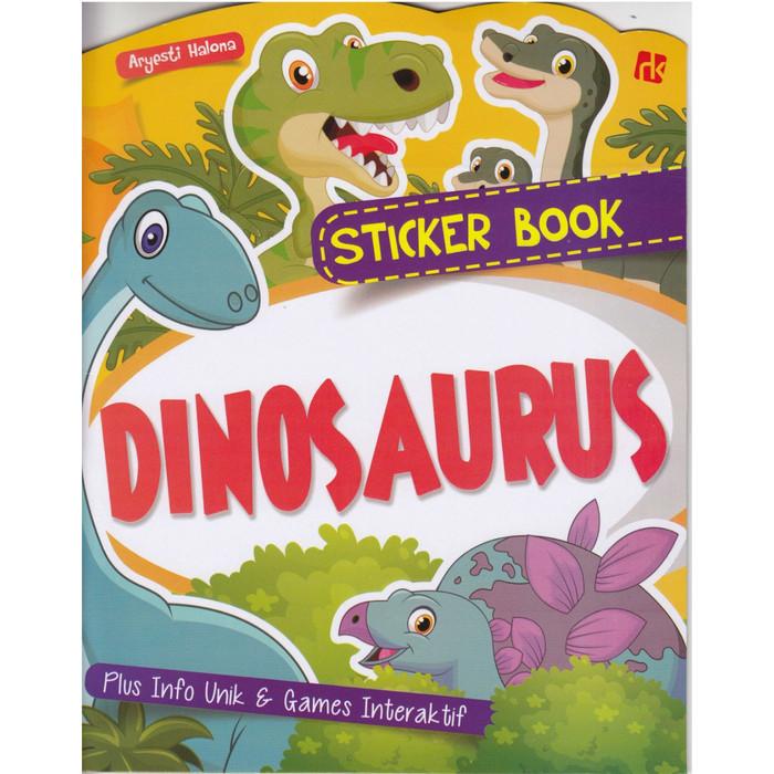 Foto Produk Sticker Book Dinosaurus - Aryesti Halona - Ruang Kata dari Republik Fiksi