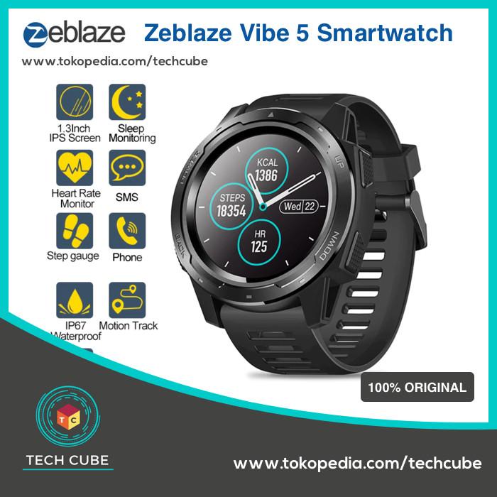 Jual Zeblaze Vibe 5 Smartwatch Heart Rate Color Disp Alt Zeblaze