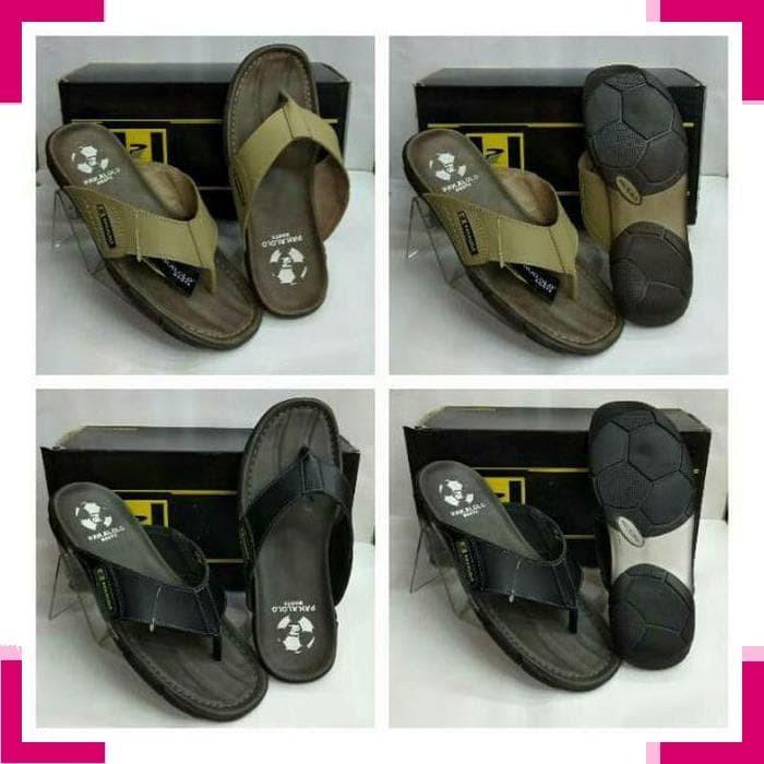 Sandal Sandal Jepit 3061 sandal kulit pakalolo 2329 krem .edisi