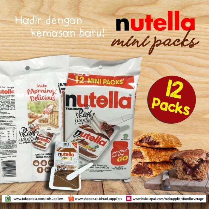 Jual Nutella Mini Pack ukuran 15gramX12, NEW, Mini Nutella, SPESIAL PRICE!!  - Kota Depok - RAD Suppliers F&B Depok | Tokopedia