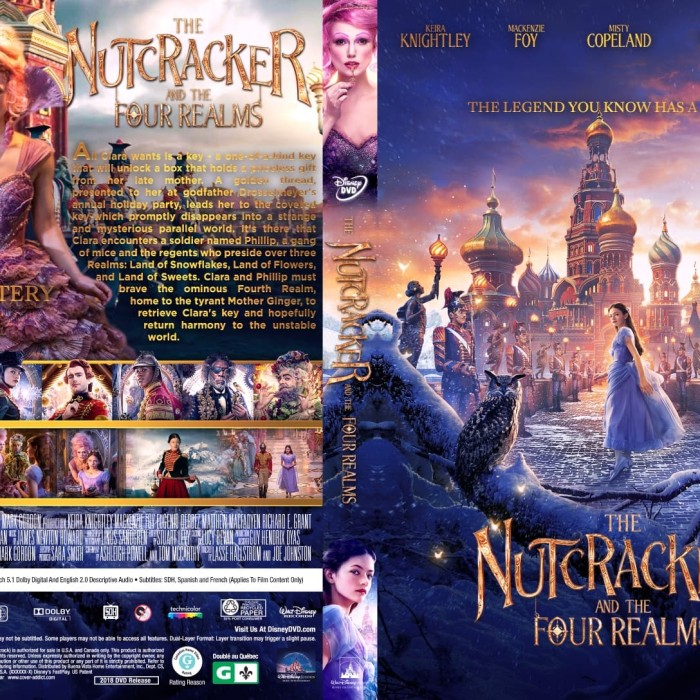 Jual Film Dvd The Nutcracker And The Four Realms 2018 Movie Collection Film Jakarta Barat M Collector Tokopedia