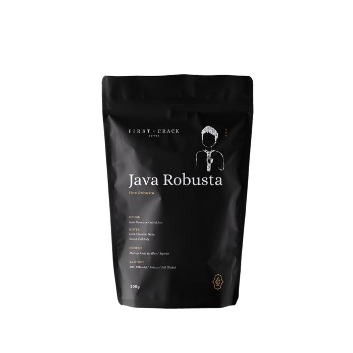 Foto Produk Java Fine Robusta dari First Crack Coffee