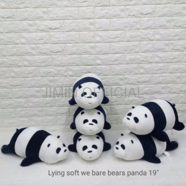 Jual Boneka Anak Termurah Boneka We Bare Bears Panda Uk Besar Bantal We Ba Jakarta Barat Jimin Official Tokopedia